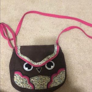 Cute gently worn Claire's bag!